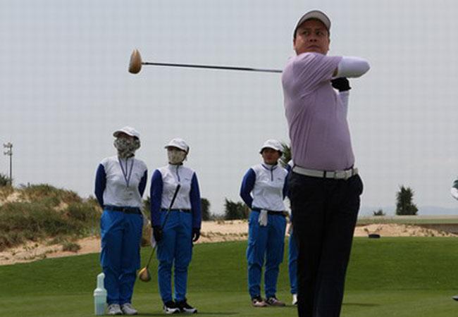 Hơn 20 golf thủ tham gia Giải golf FLC Du lịch Quy Nhơn - Bình Định năm 2016