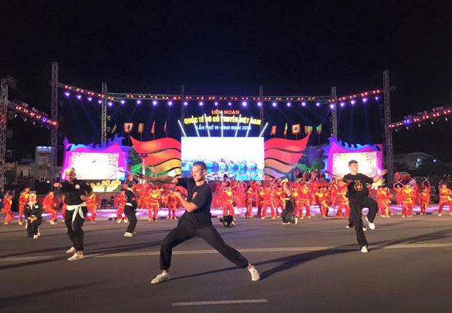 Về Bình Định tham dự Liên hoan Quốc tế võ cổ truyền Việt Nam 2016