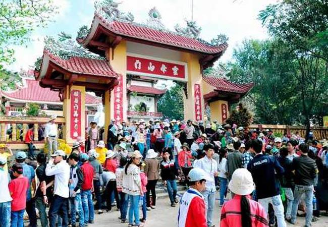 Lễ hội Chùa Ông Núi Bình Định - Linh Phong Thiền Tự
