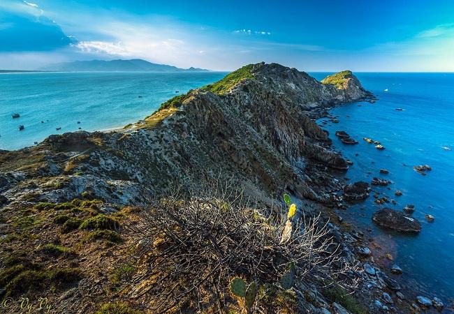 Nét đẹp hoang sơ của bãi biển Eo Gió